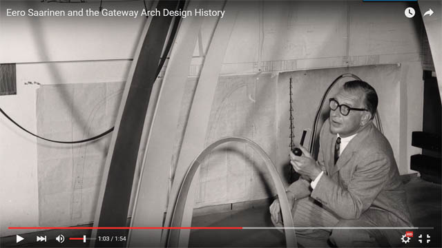 Saarinen Arch Video Frame